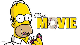 Netflix box art for The Simpsons Movie